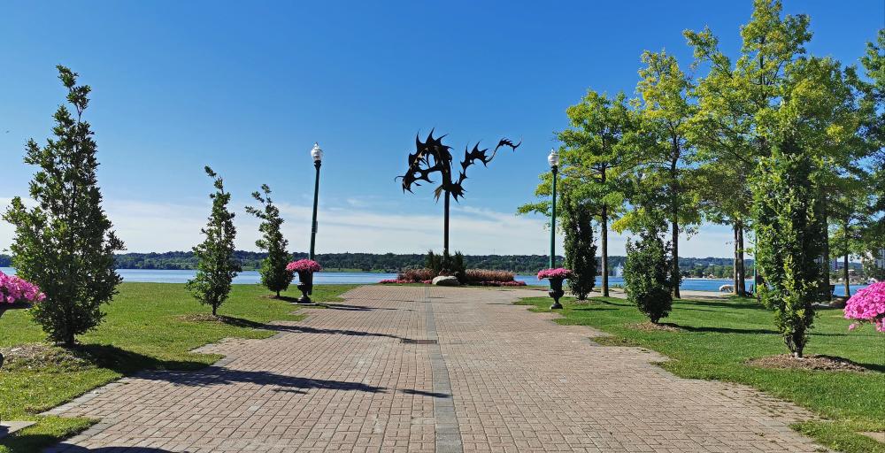 Barrie Ontario's lakeshore