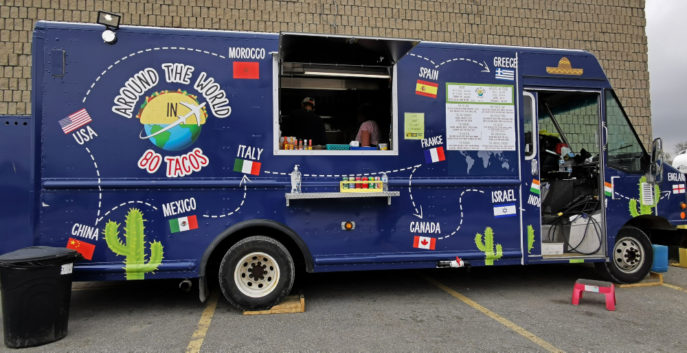 Simcoe County Food Trucks -Around the World in 80 Tacos
