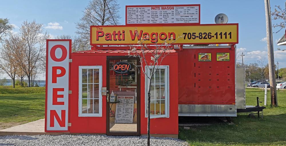 Patti Wagon food truck in Orillia