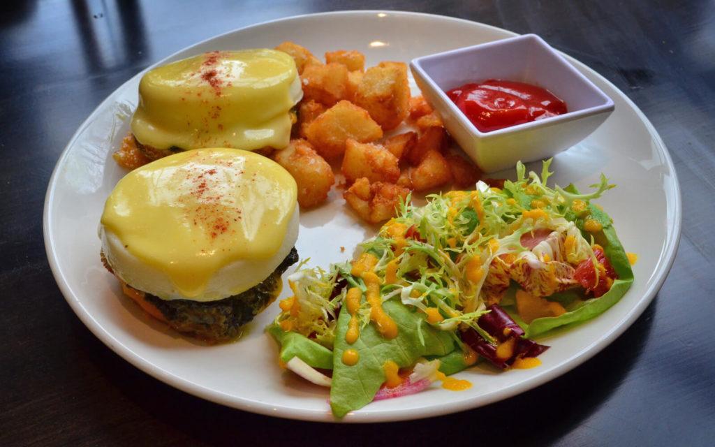 Eggs Benedict from Berkeley North