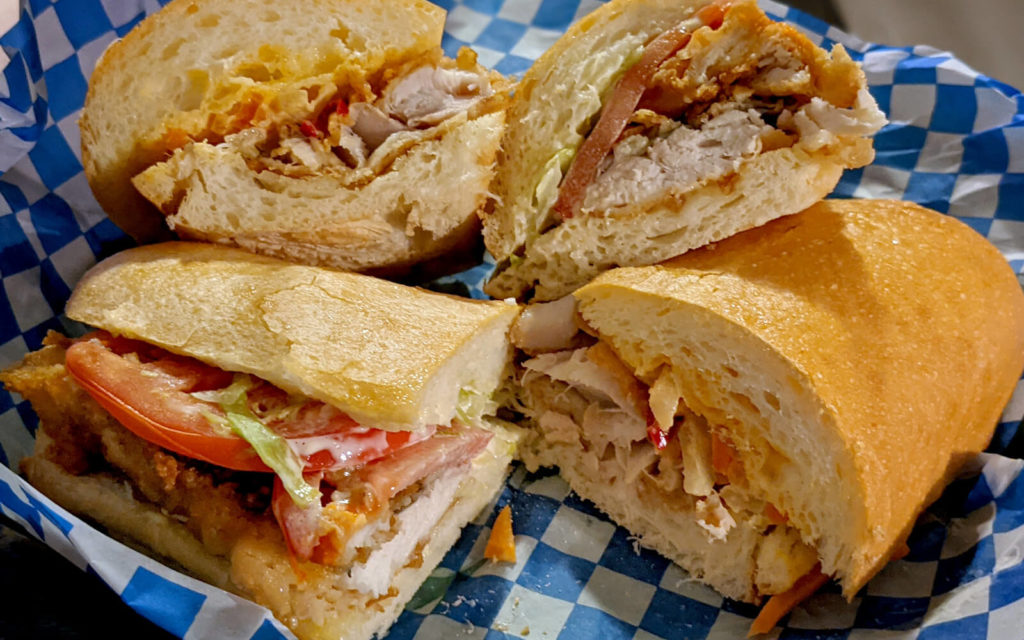 Some of the Delicious Sandwiches from Hammerheads