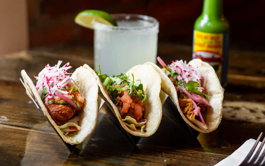 Tacos from The Mule
