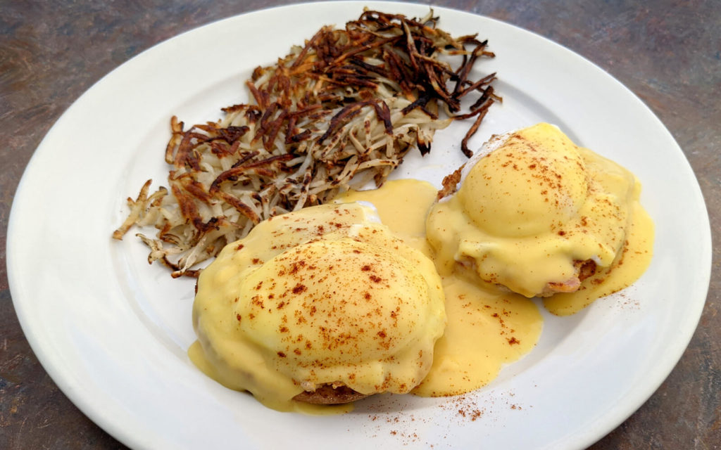 Eggs Benedict from Dave's Diner