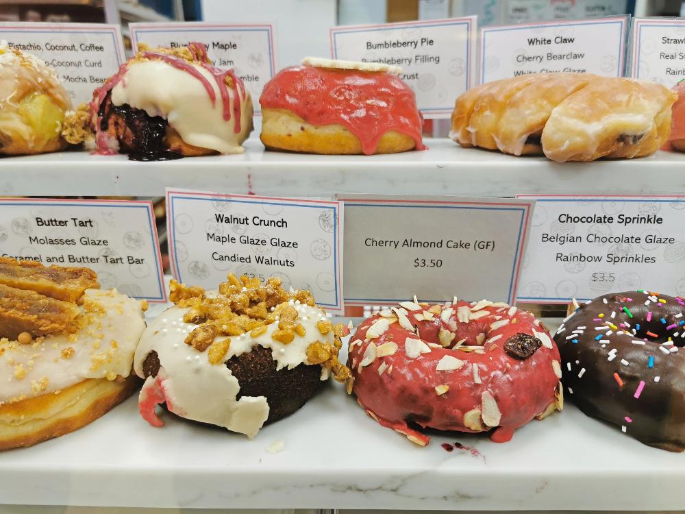 Lady Glaze Doughnuts selection