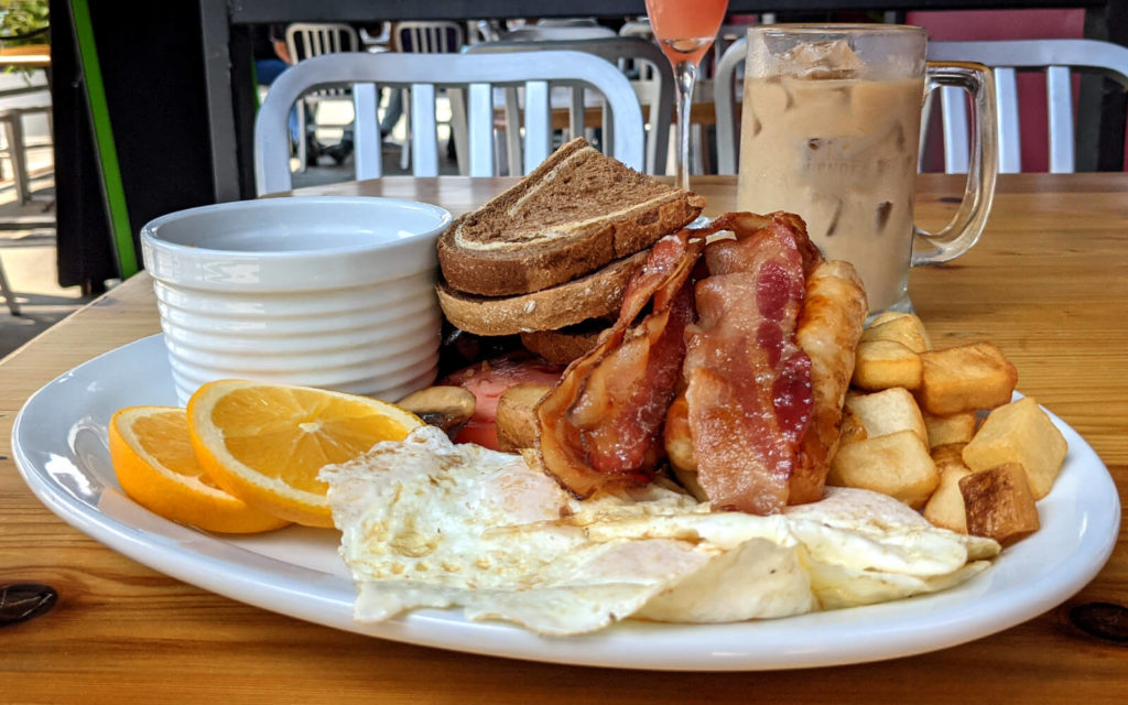 Full English Breakfast from The Loaf & Ale Restaurant