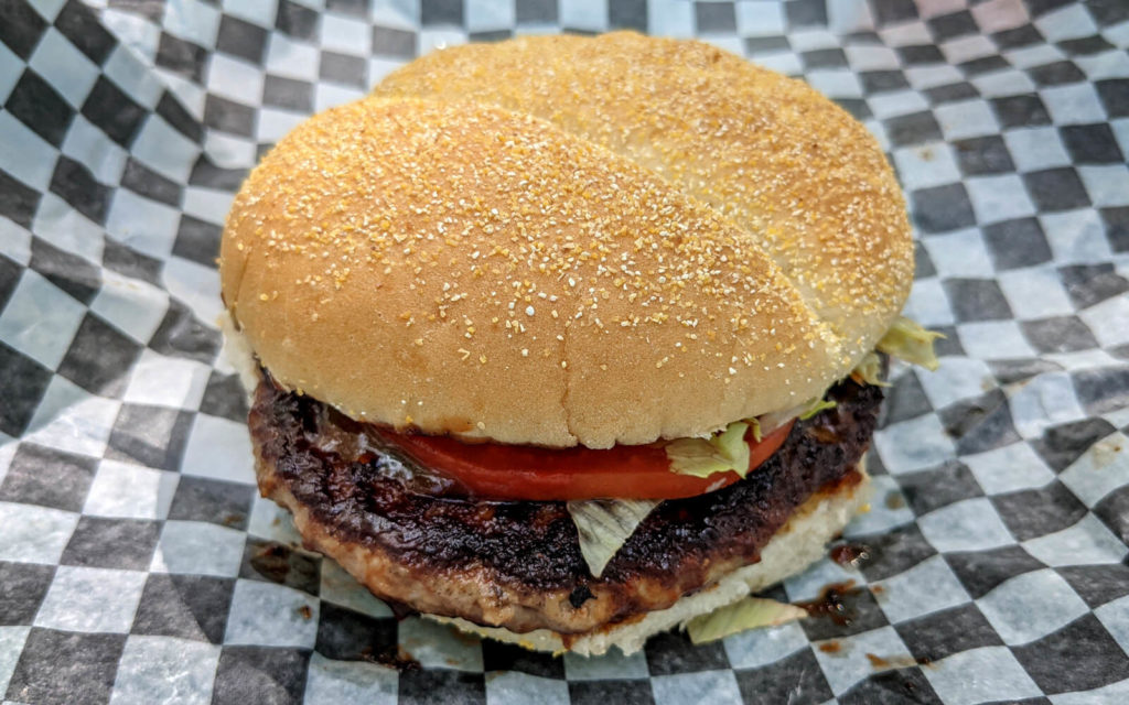 Texas Style Homeburger from Mr Jerry's Food Truck