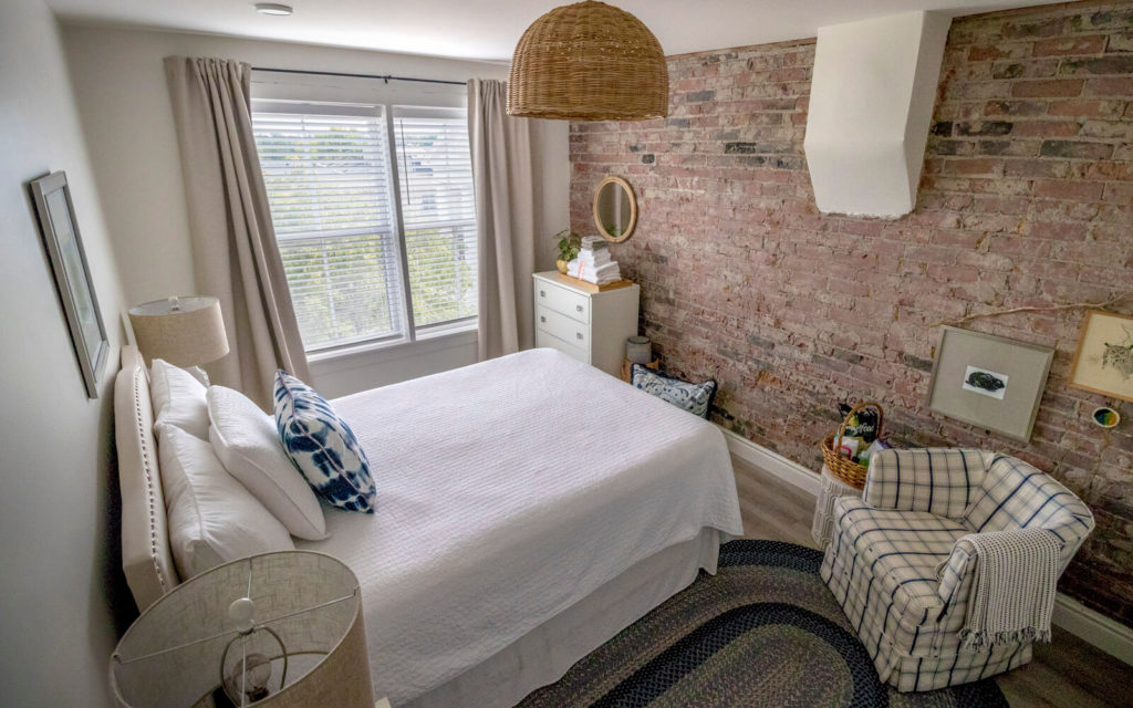 One of the Bedrooms at 23 Market Square in Napanee